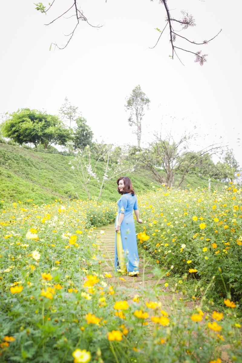 Xuân, hoa và em